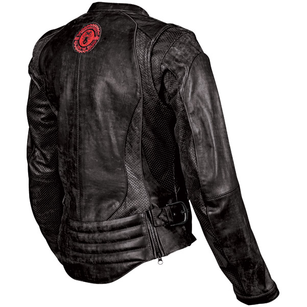 Speed and Strength Black Widow Women′s Leather Jacket