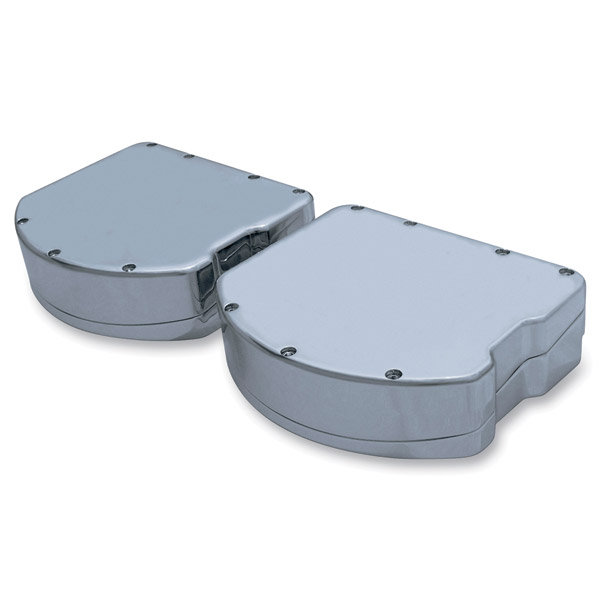 Covingtons Customs Panhead Smooth Style Chrome Rocker Box Cover