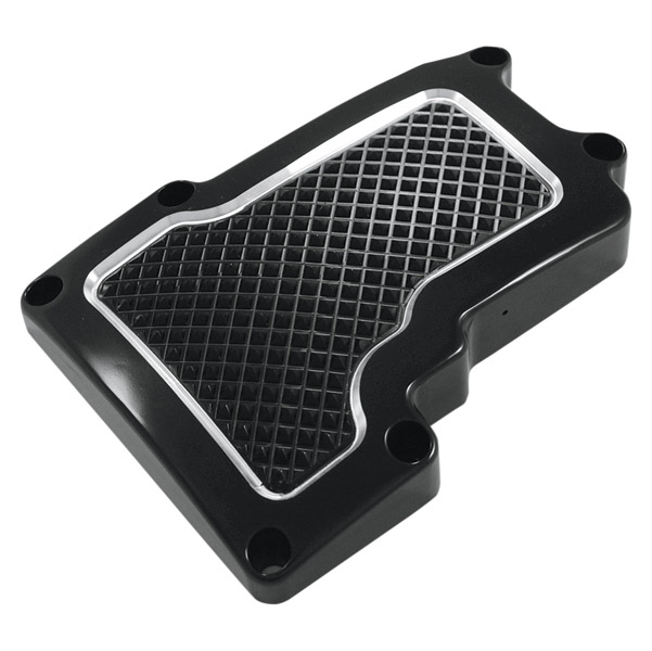 Eddie Trotta Designs Black Anodized Cross Cut Transmission Top Cover