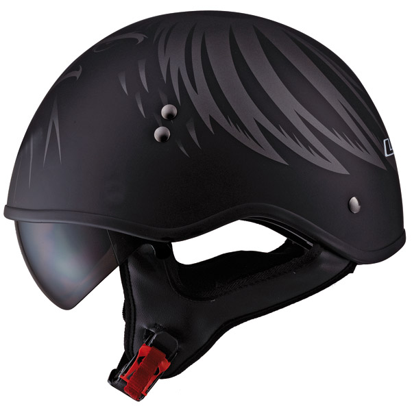LS2 HH566 Eagle Head Half Helmet
