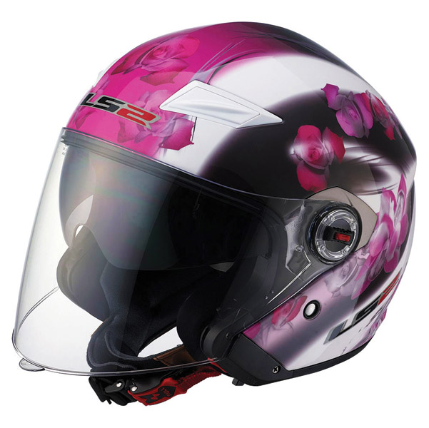 LS2 OF569 Floral Open Face Helmet