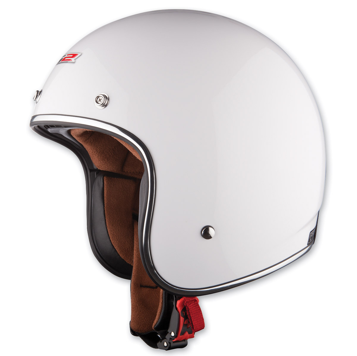 LS2 OF583 Bobber White Open Face Helmet
