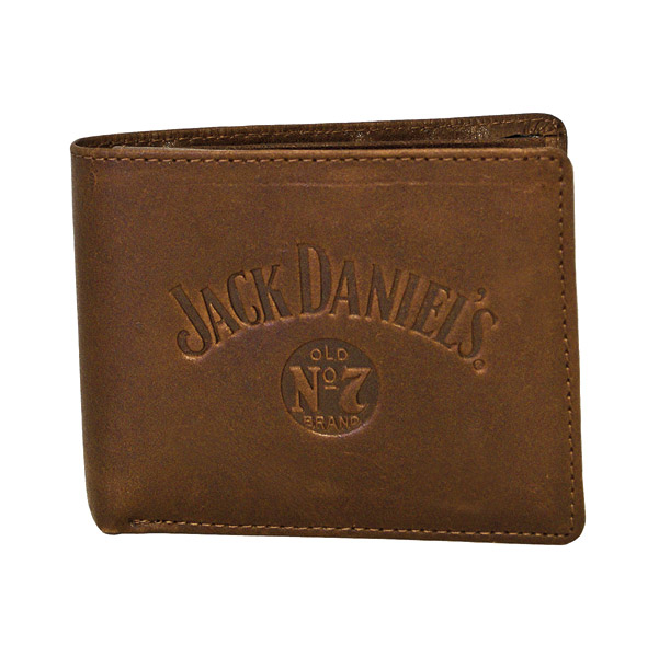 Jack Daniel's Signature Collection Brown Billfold