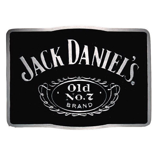 Jack Daniel's Rectangle Belt Buckle