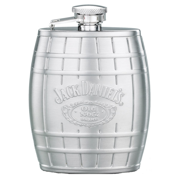 Jack Daniel's Stainless Steel Barrel Flask