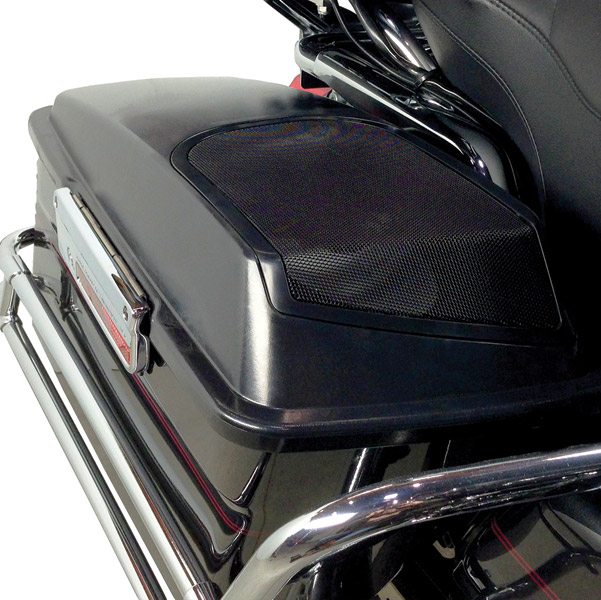 Hogtunes Saddlebag Speaker Lid Kit Without Speakers