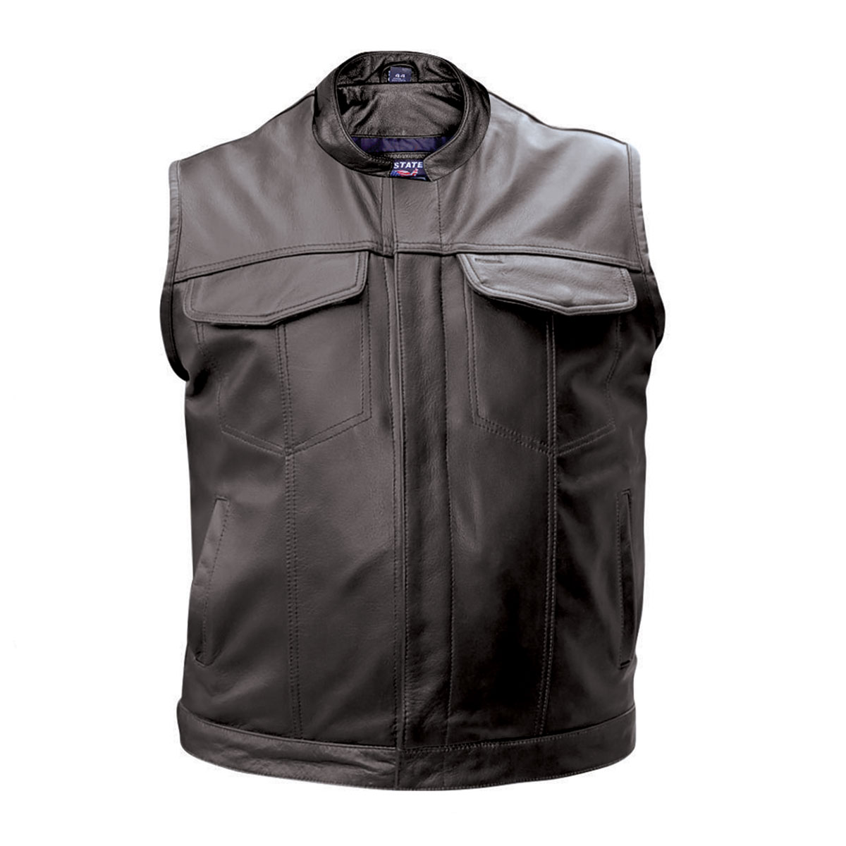 Allstate Leather Inc. Men's Concealed Carry Leather Vest