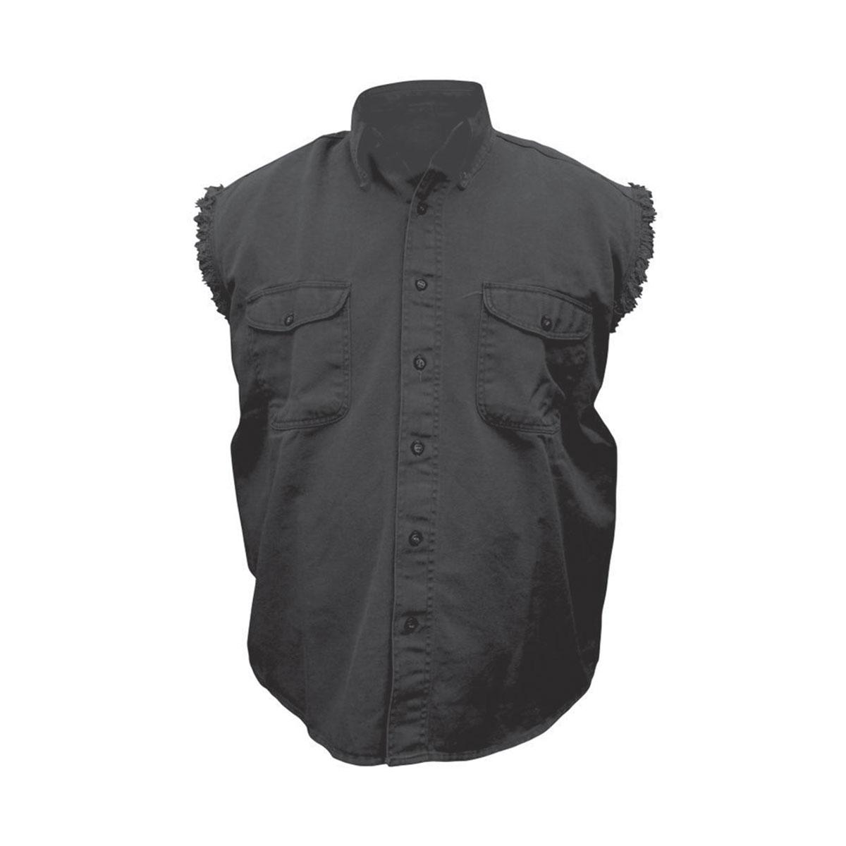 allstate leather inc men 39 s cotton button down black