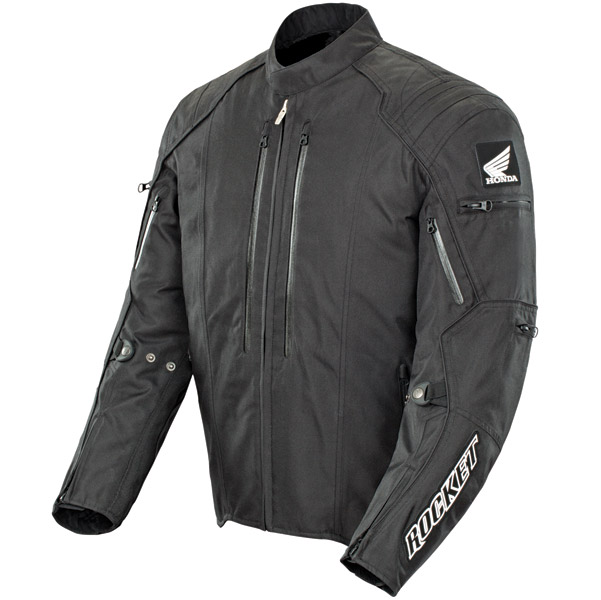 Joe Rocket Men′s CBR Textile Black Jacket