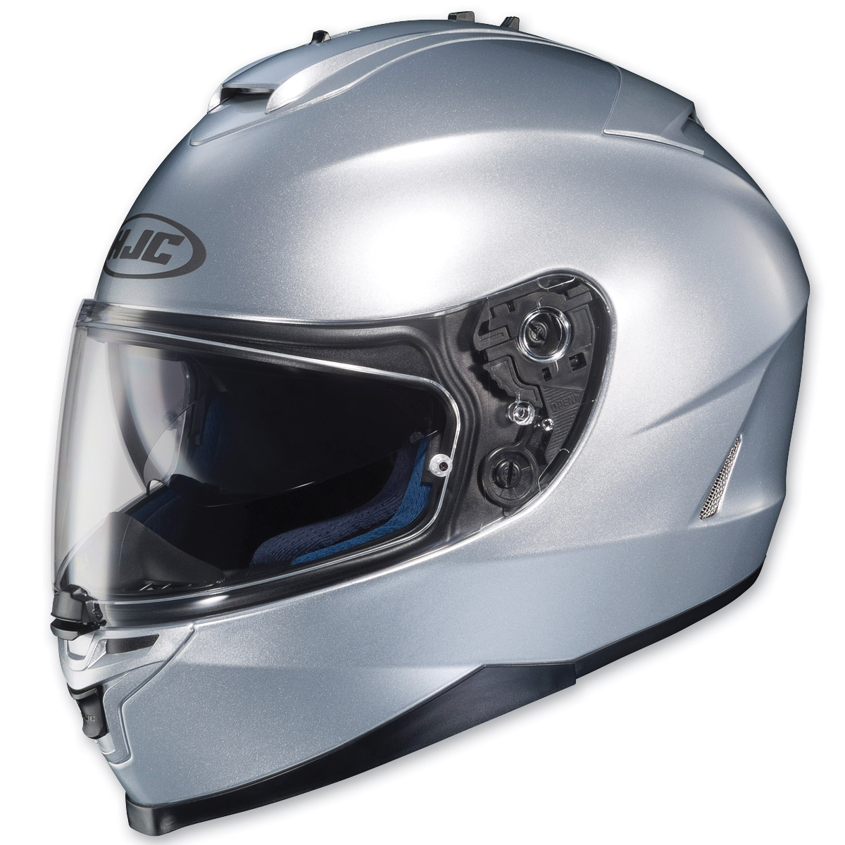 HJC IS-17 Silver Full Face Helmet