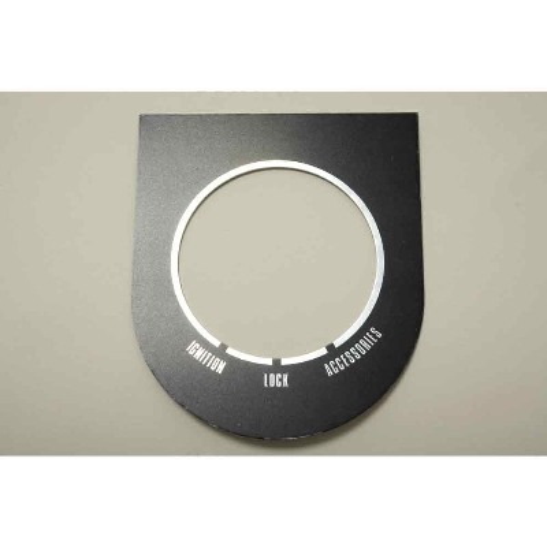 V-Twin Manufacturing Dash Switch Trim Plate