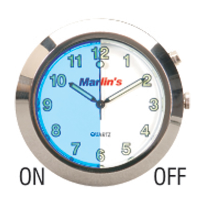 Marlin's Talon Handlebar Mount Clock