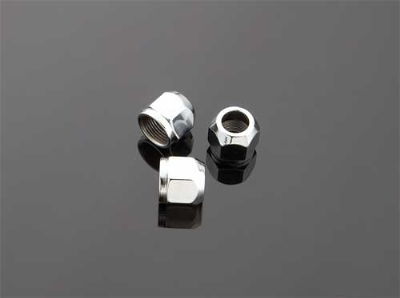 V-Twin Manufacturing Oil Tank Nipple Nuts