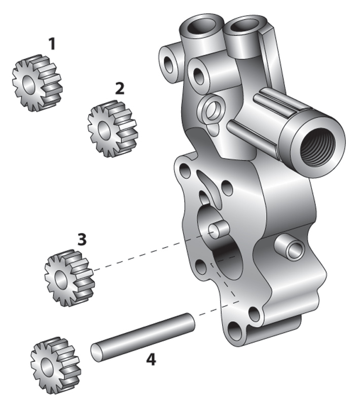 V-Twin Manufacturing Big Twin Oil Pump Gear