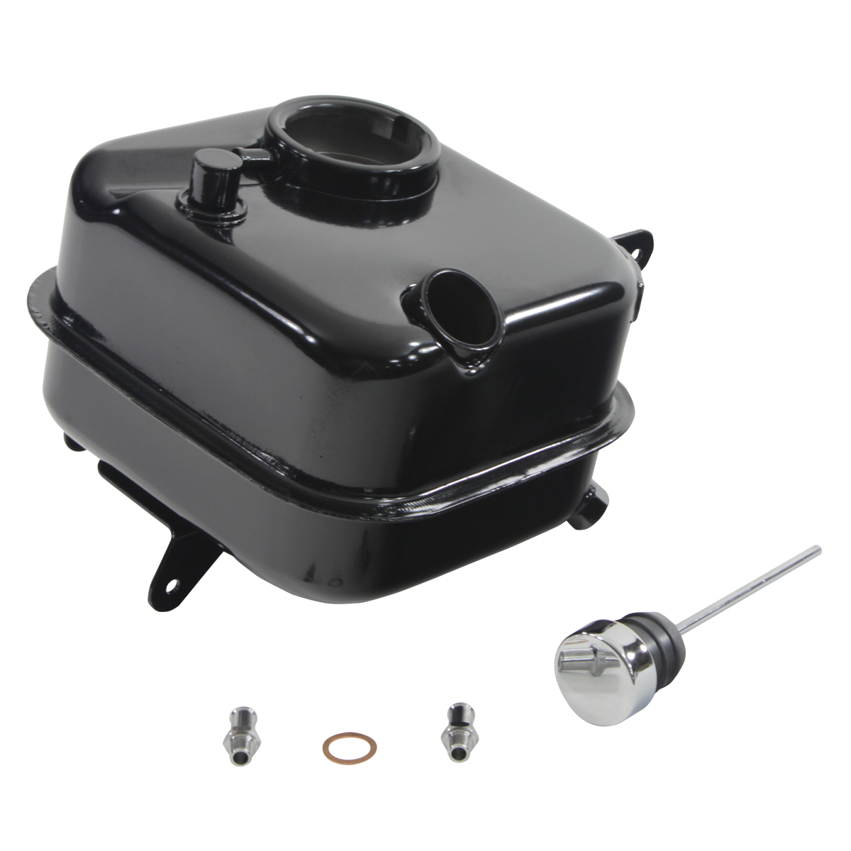 V-Twin Manufacturing Big Twin Replacement Oil Tank