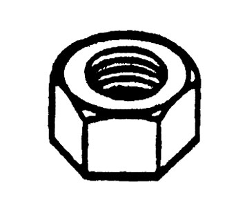 Standard Oil Pump Nut