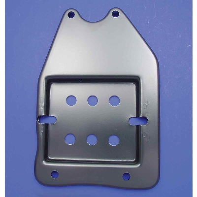 V-Twin Manufacturing Replica Oil Tank Plate