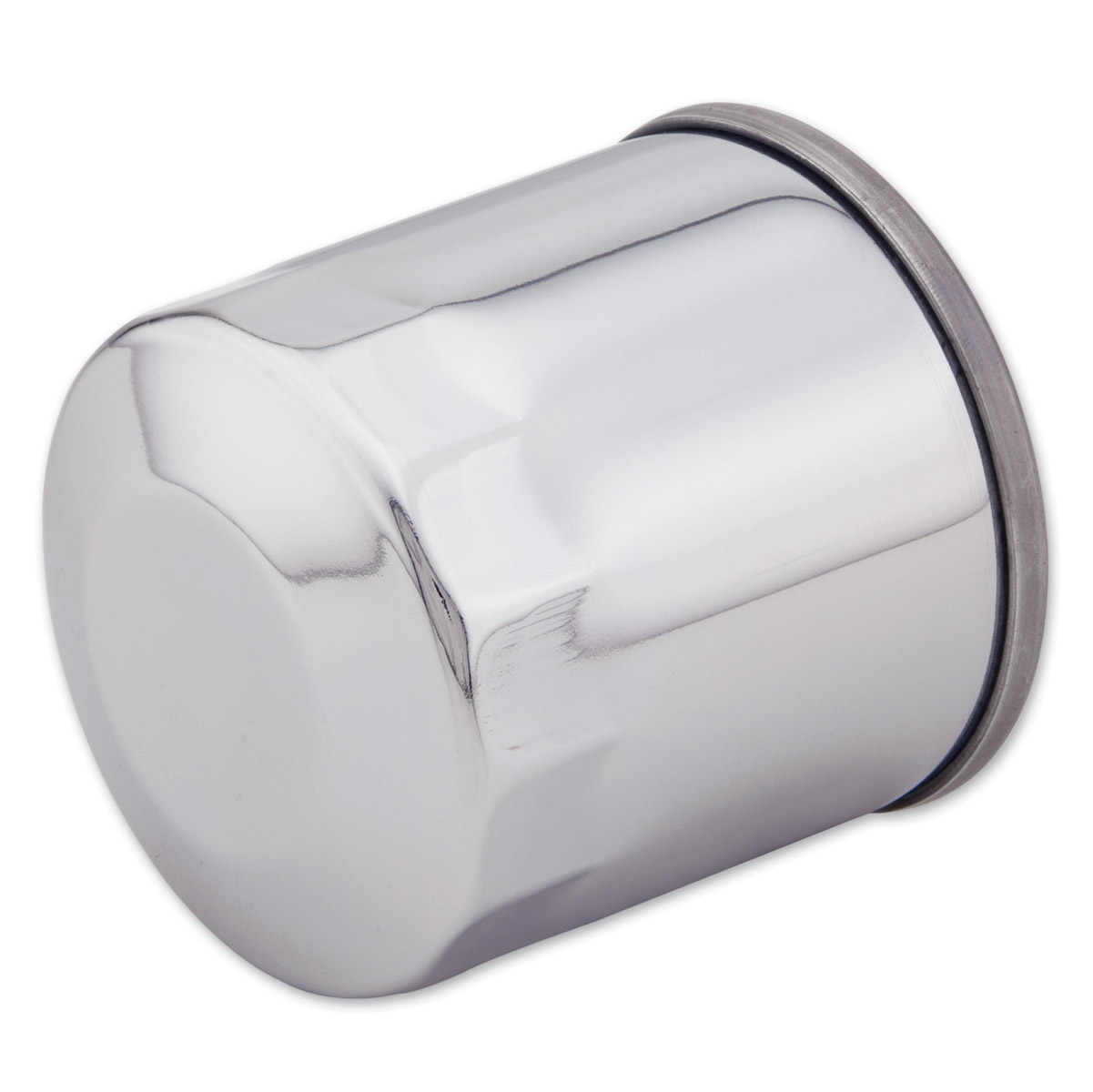 J&P Cycles® Chrome Oil Filter