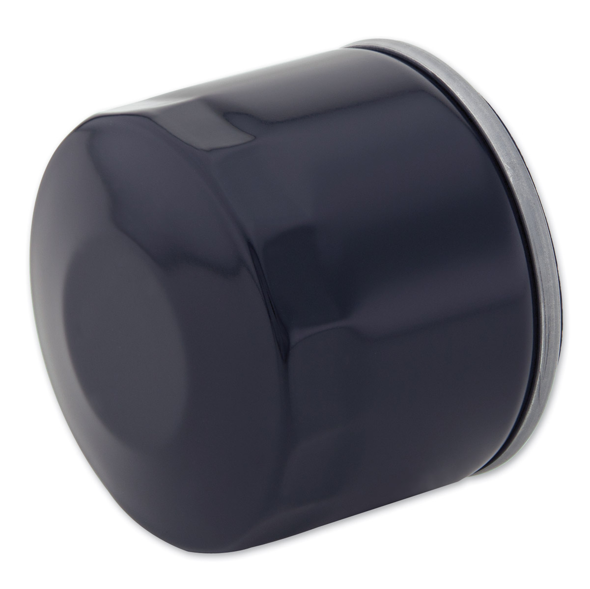 J&P Cycles® Top Quality Black Replacement Spin-on Oil Filter