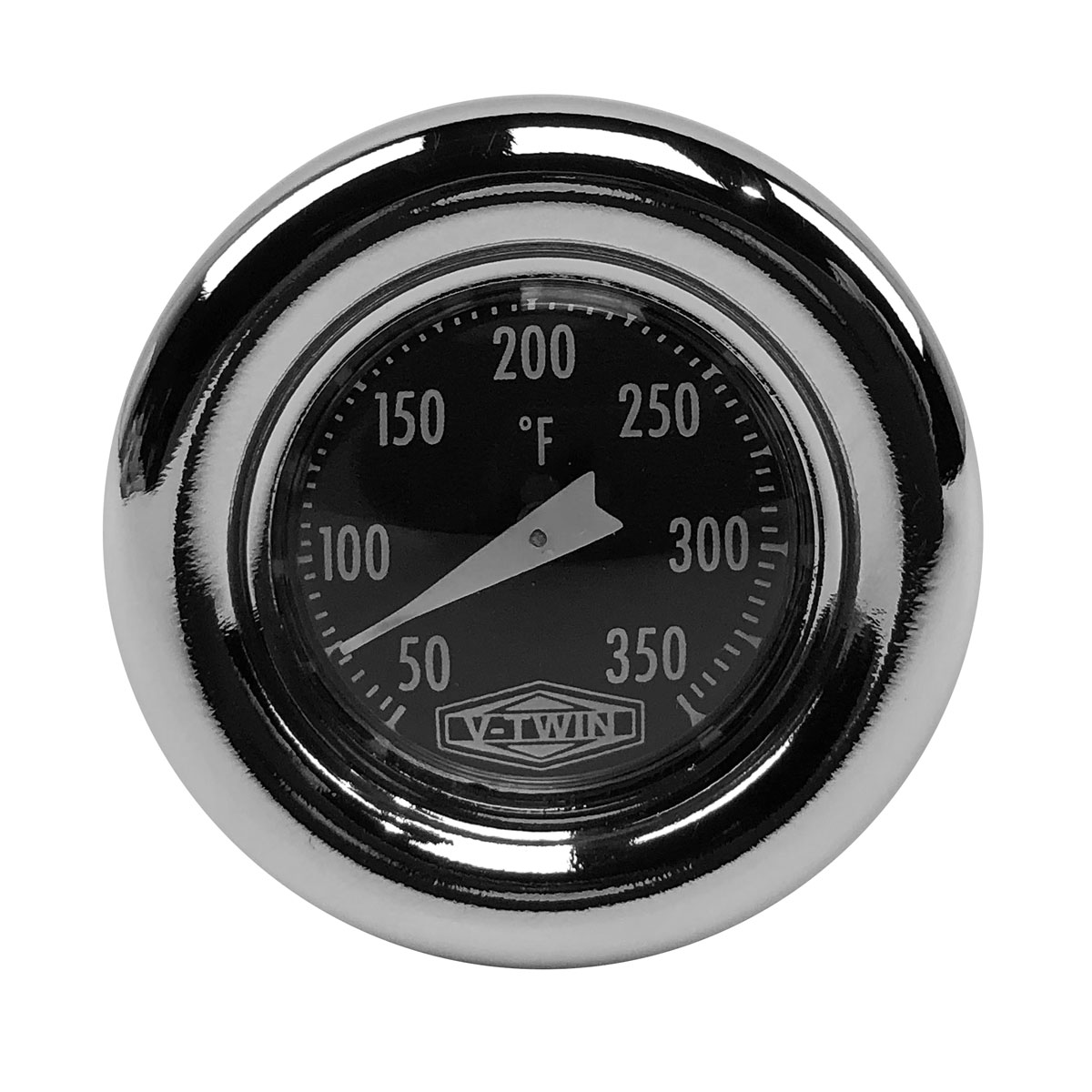 Bikers Choice 71559S3 Oil Tank Dipstick with Temperature Gauge harley push in
