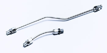 J&P Cycles® Chrome Rocker Oil Lines