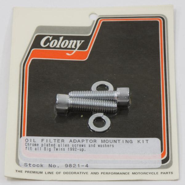 Colony Oil Filter Mount Kit