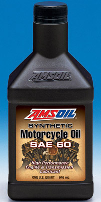 Amsoil Synthetic SAE 60 Motorcycle Oil
