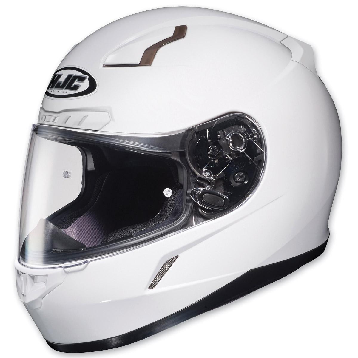 HJC CL-17 White Full Face Helmet