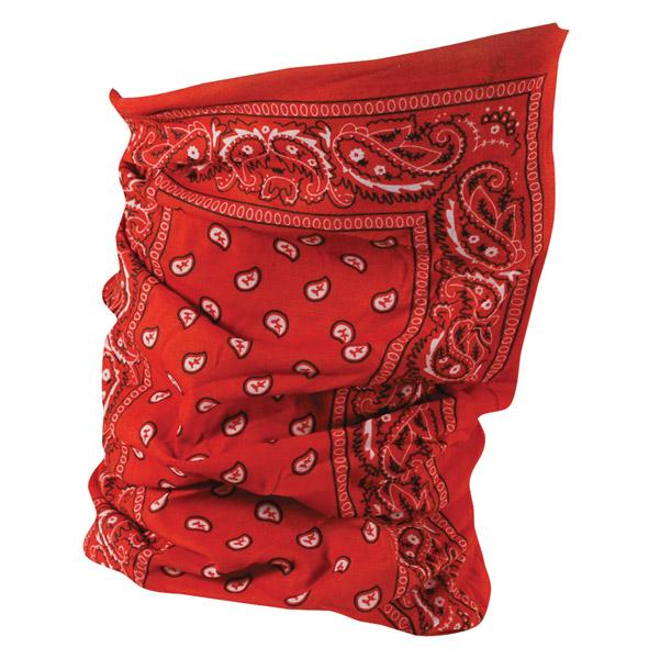 ZAN headgear Red Paisley Motley Tube