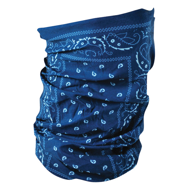 ZAN headgear Blue Paisley Motley Tube
