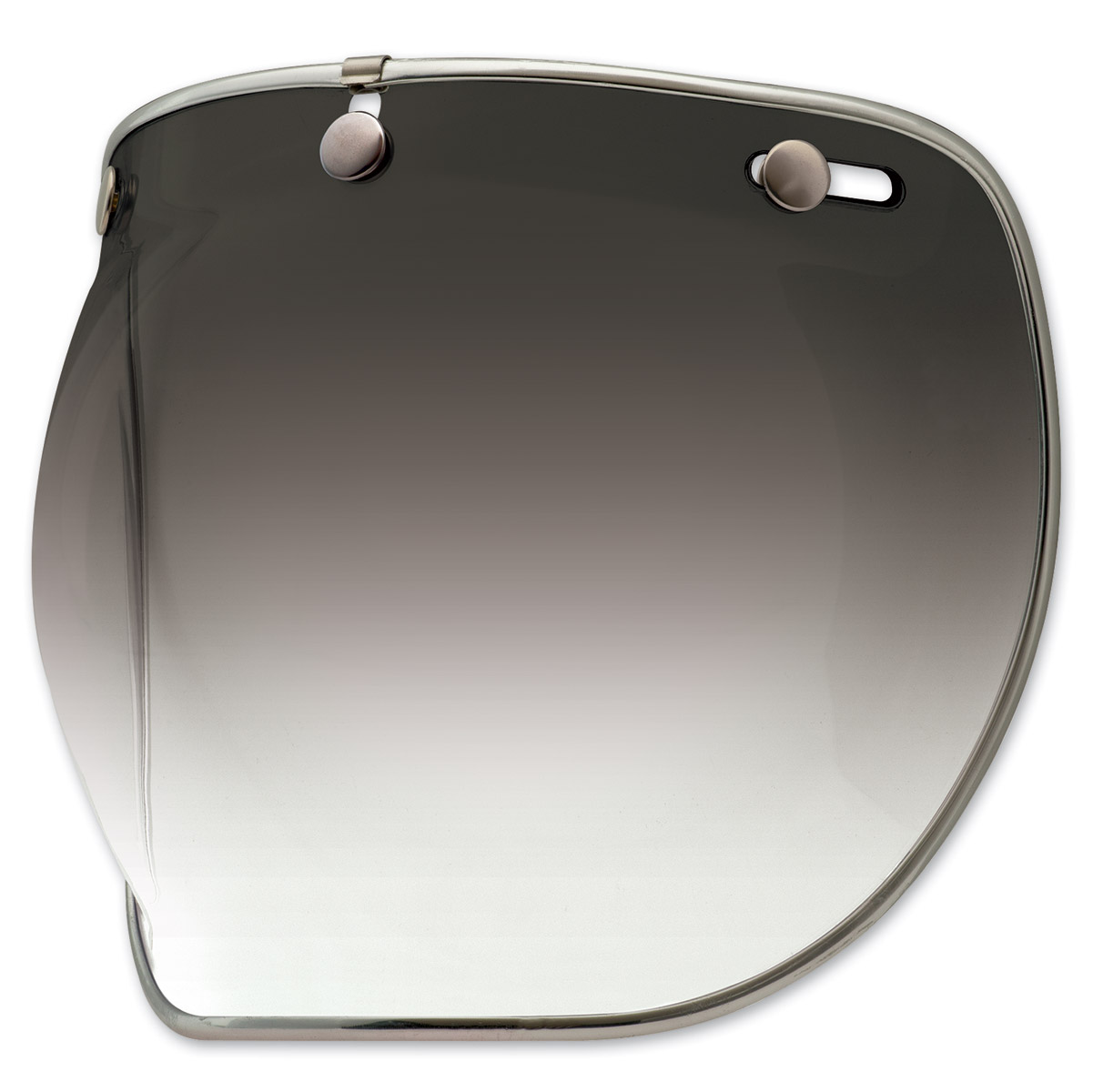 Bell 3-Snap Smoke Gradient Bubble Shield Deluxe