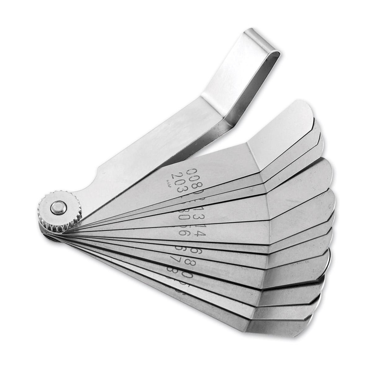 BikeMaster 12-Blade Combination Tappet & Feeler Gauge Set