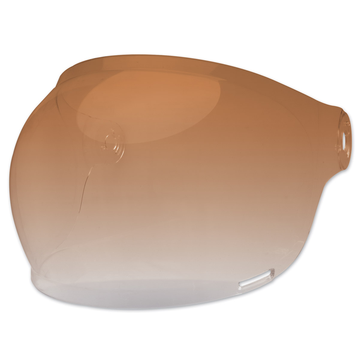 Bell Bullitt Amber Bubble Shield with Brown Tab