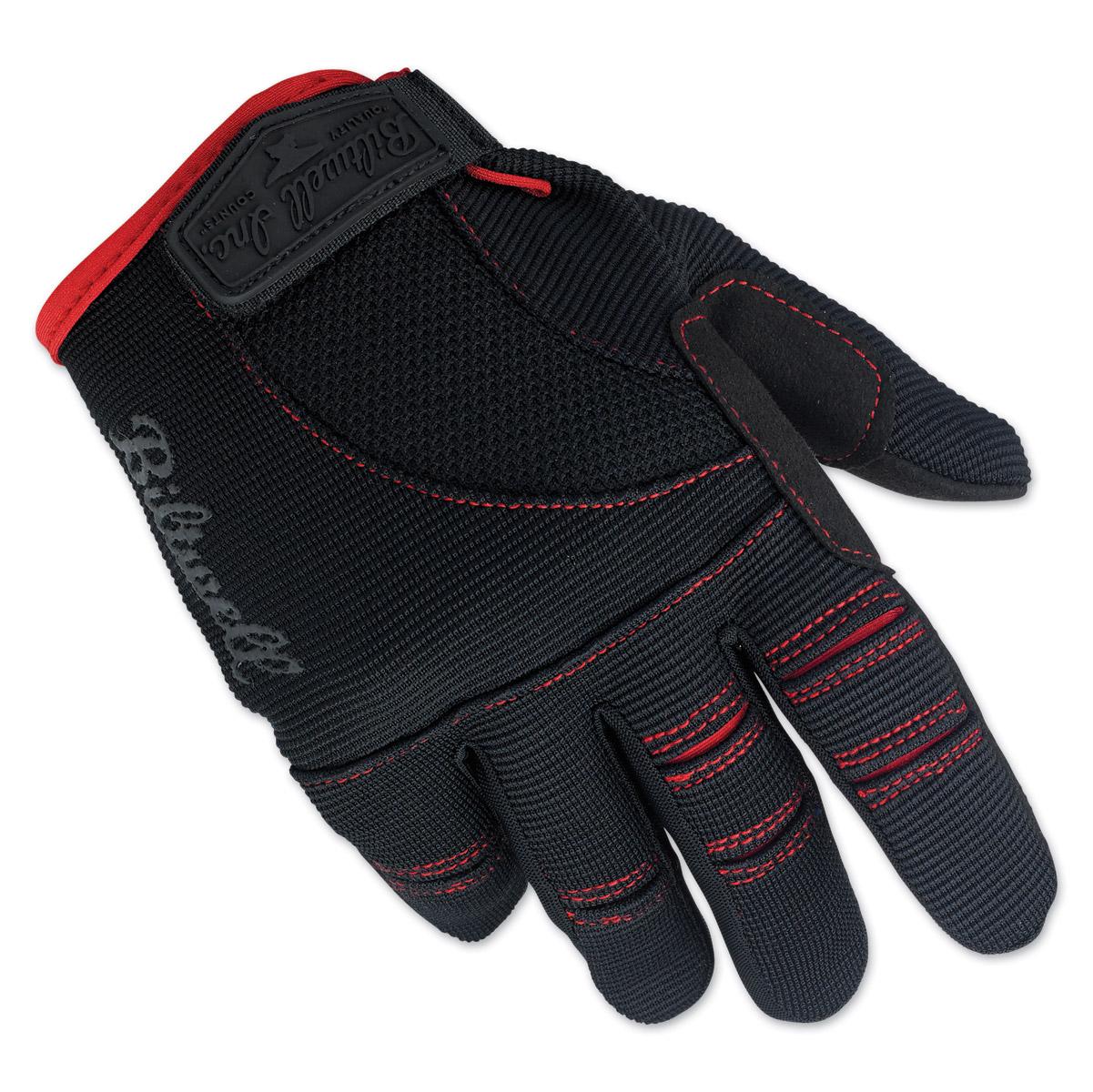 Biltwell Inc. Black/Red Moto Gloves