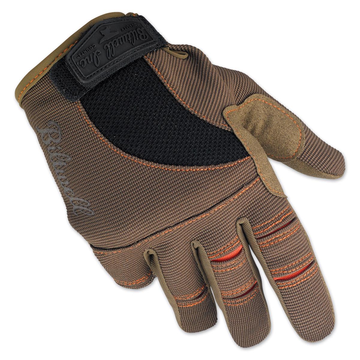Biltwell Inc. Brown/Orange Moto Gloves
