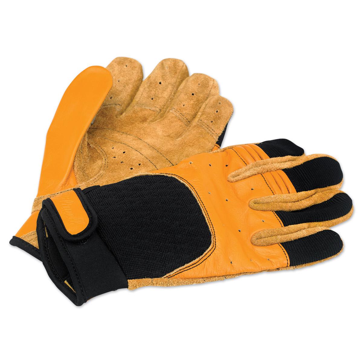 Biltwell Inc. Tan/Black Bantam Gloves