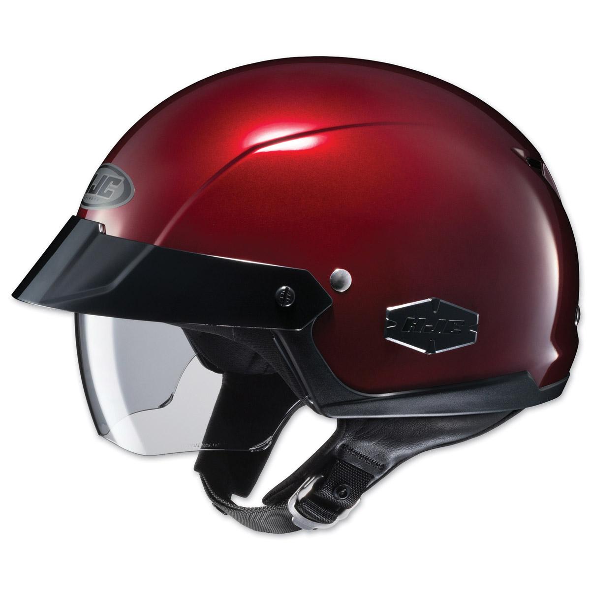 HJC IS-Cruiser Metallic Wine Half Helmet