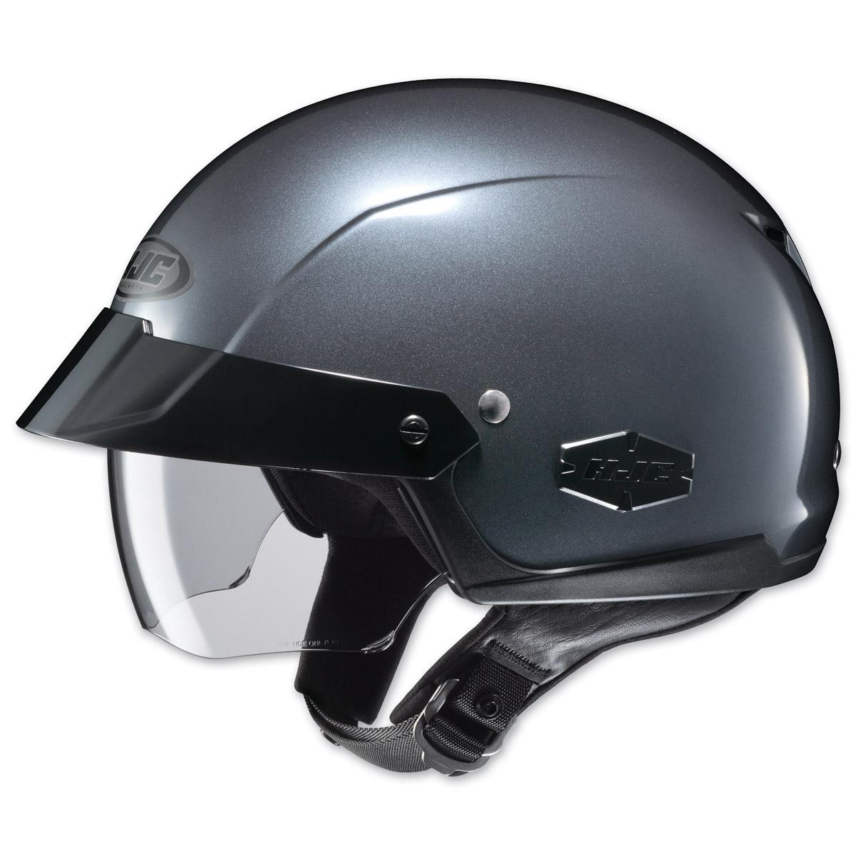 HJC IS-Cruiser Metallic Anthracite Half Helmet