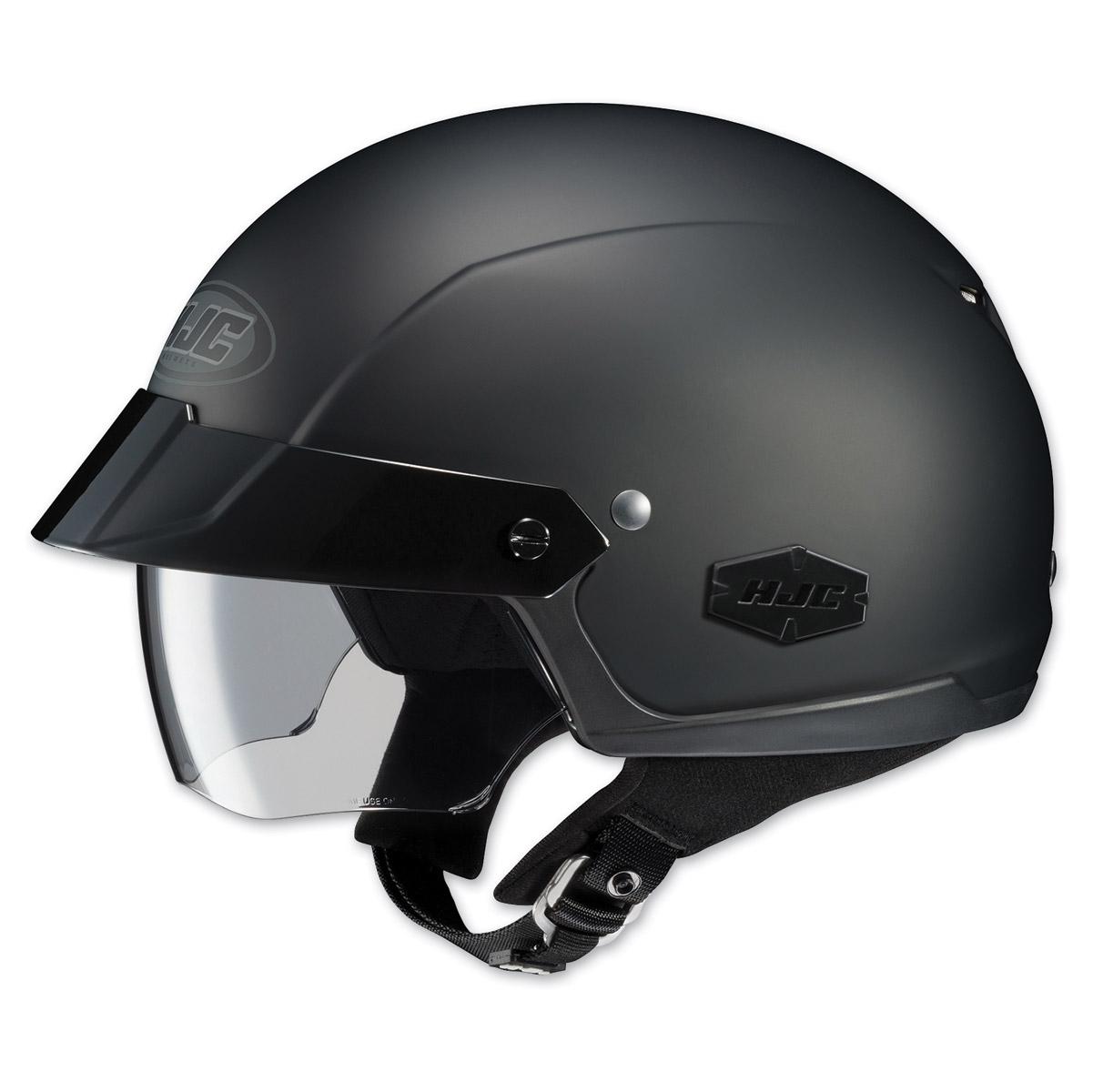 HJC IS-Cruiser Matte Black Half Helmet