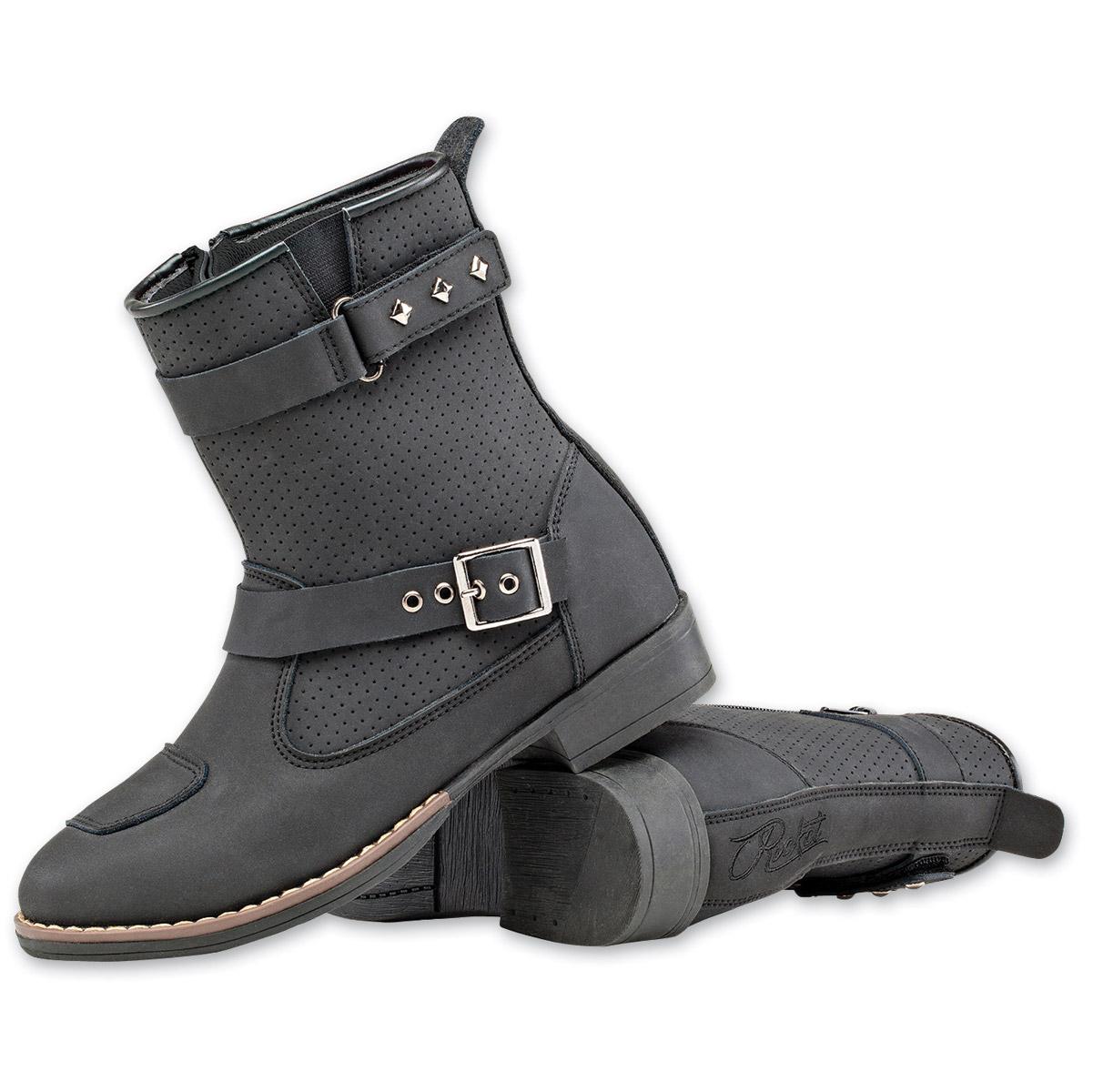 Joe Rocket Women's Moto Adira Black Leather Boot