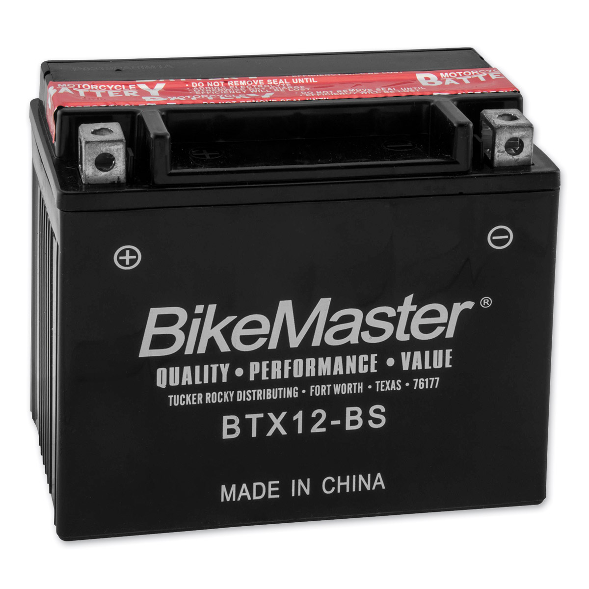 BikeMaster Maintenance Free Batteries