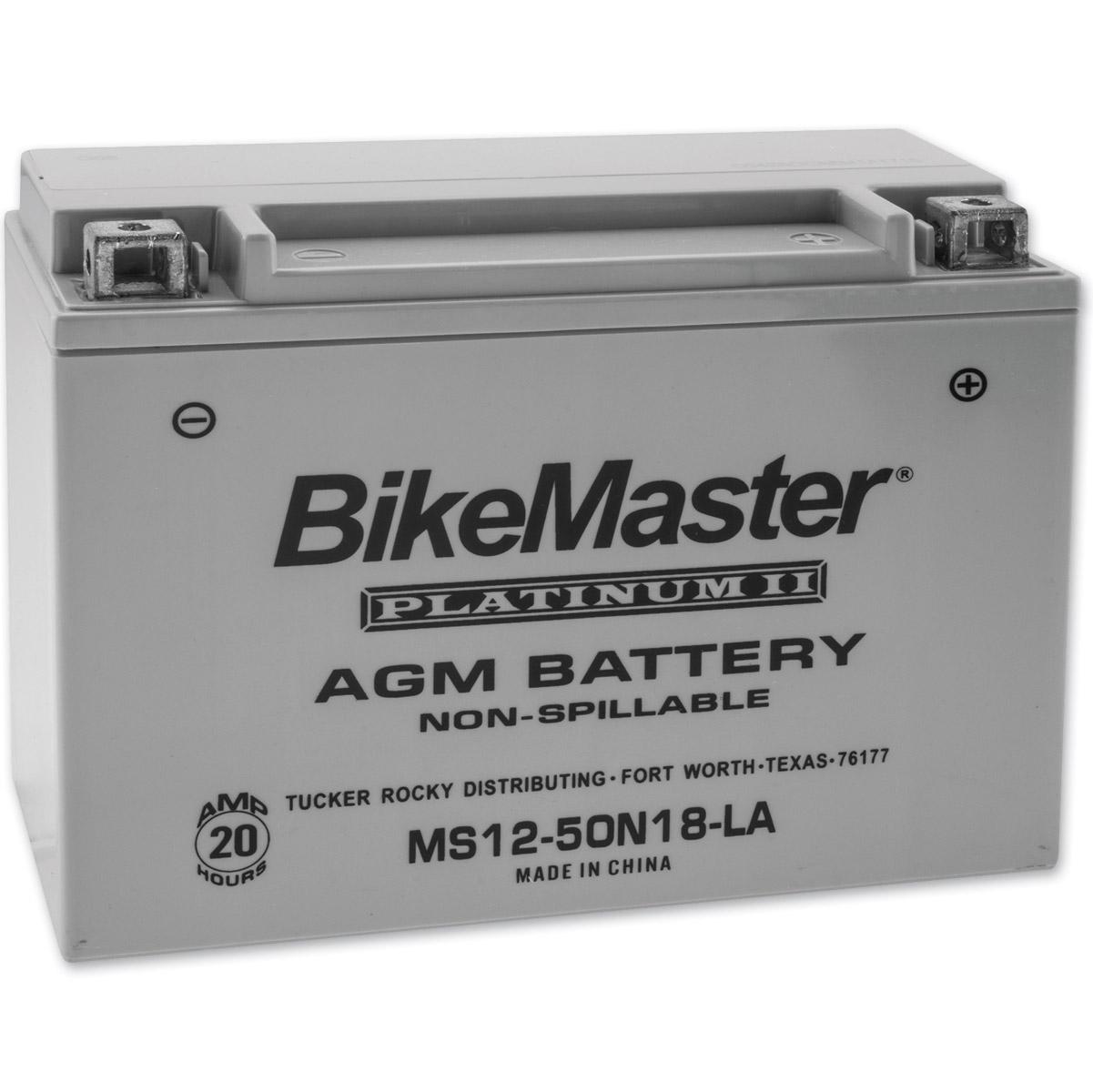 BikeMaster AGM Platinum II Battery