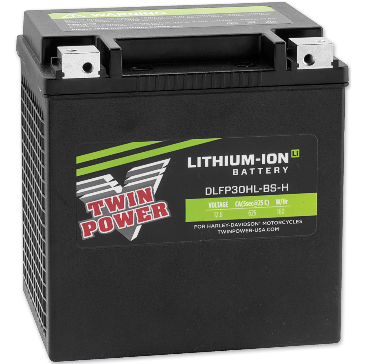 Harley Davidson Battery >> Twin Power Lithium Ion Batteries Dlfp30hl Bs H Jpcycles Com