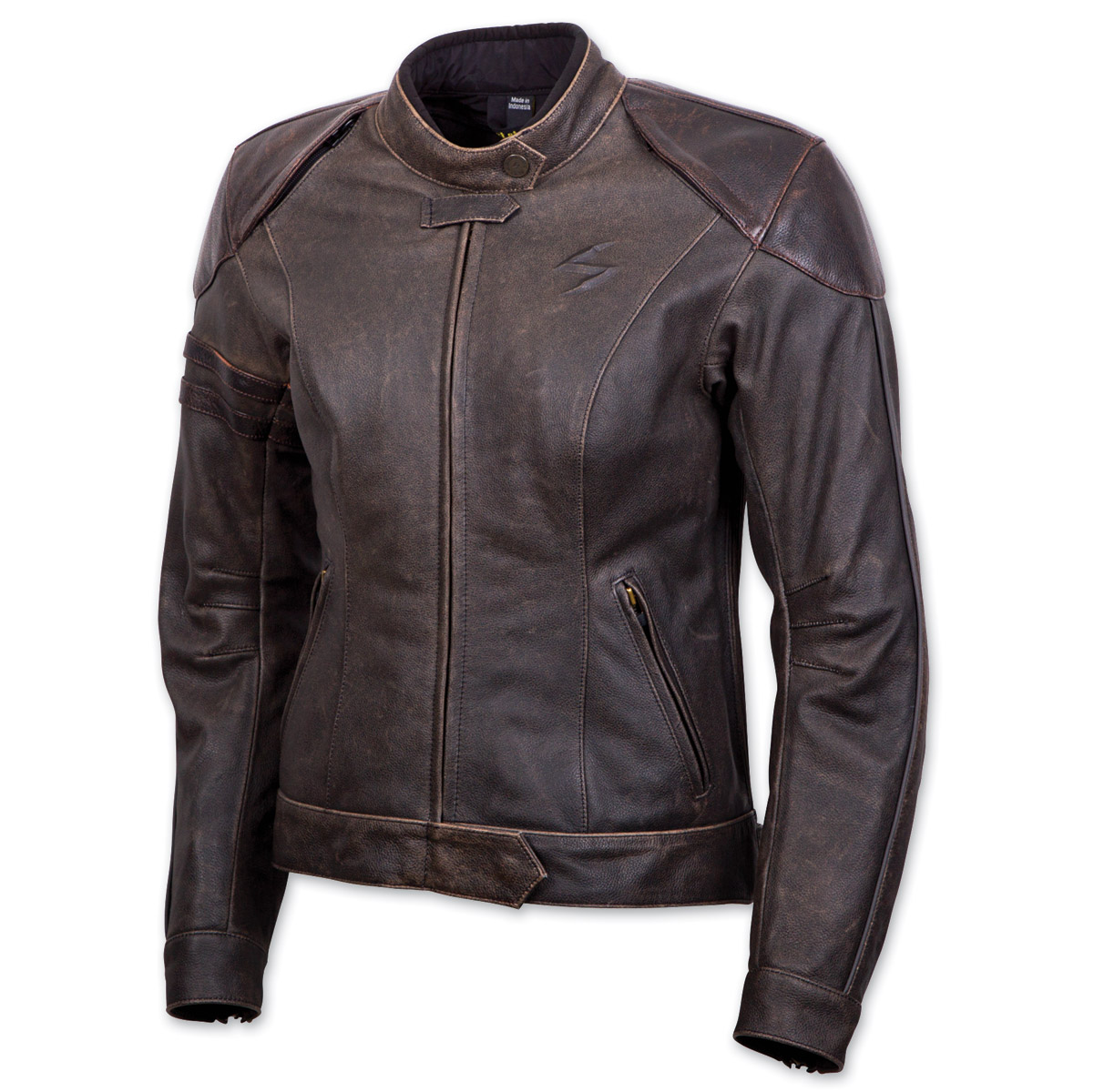 Scorpion EXO Women's Catalina Brown Leather Jacket