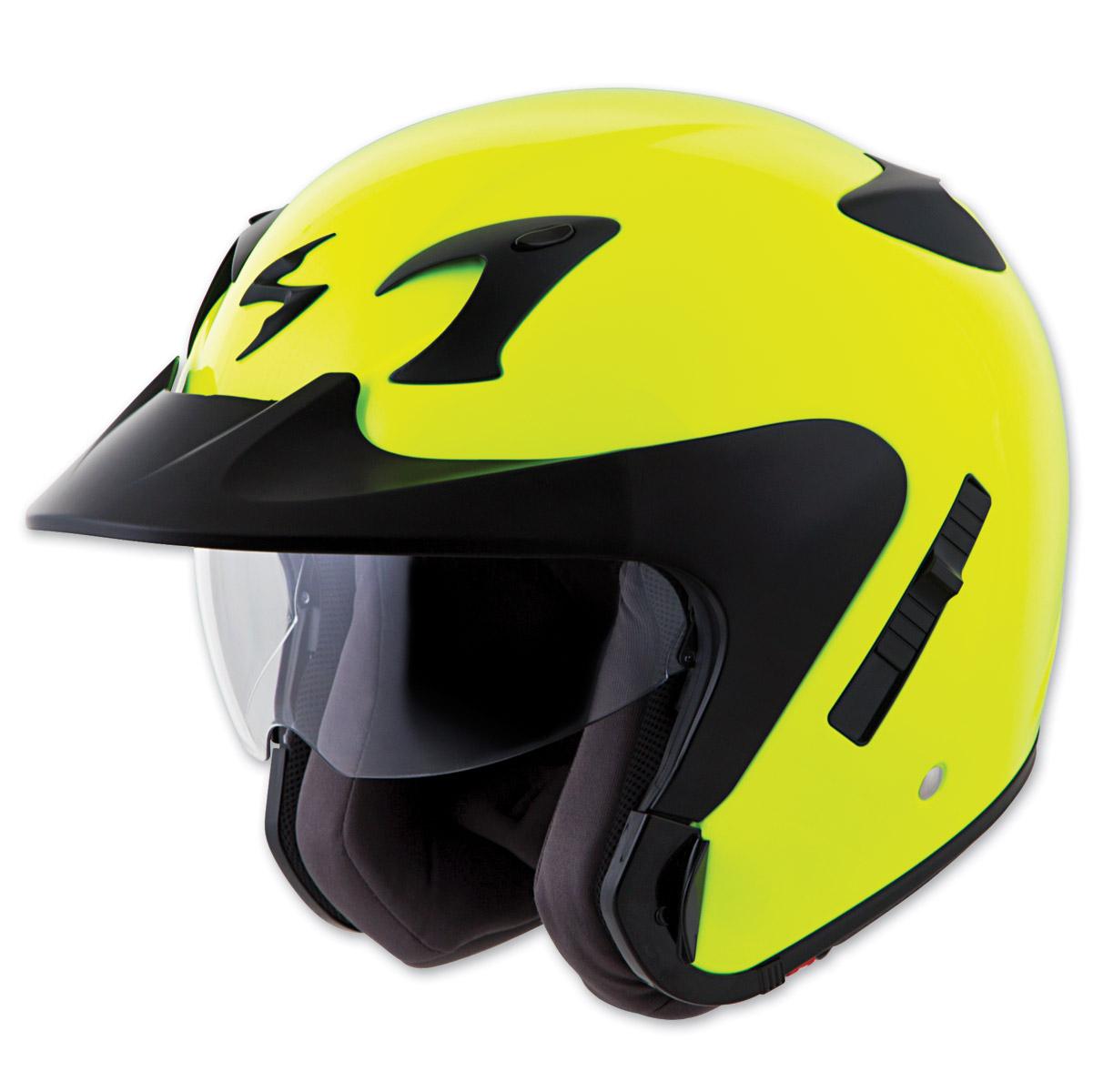 Scorpion EXO EXO-CT220 Neon Open Face Helmet