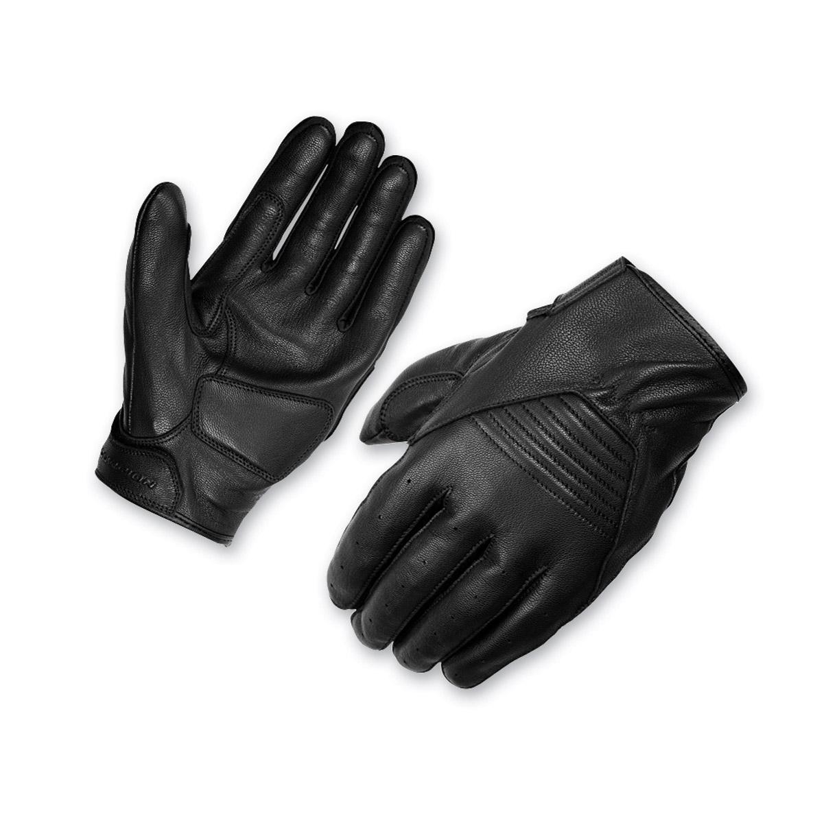 Scorpion EXO Men's Short-Cut Black Leather Gloves