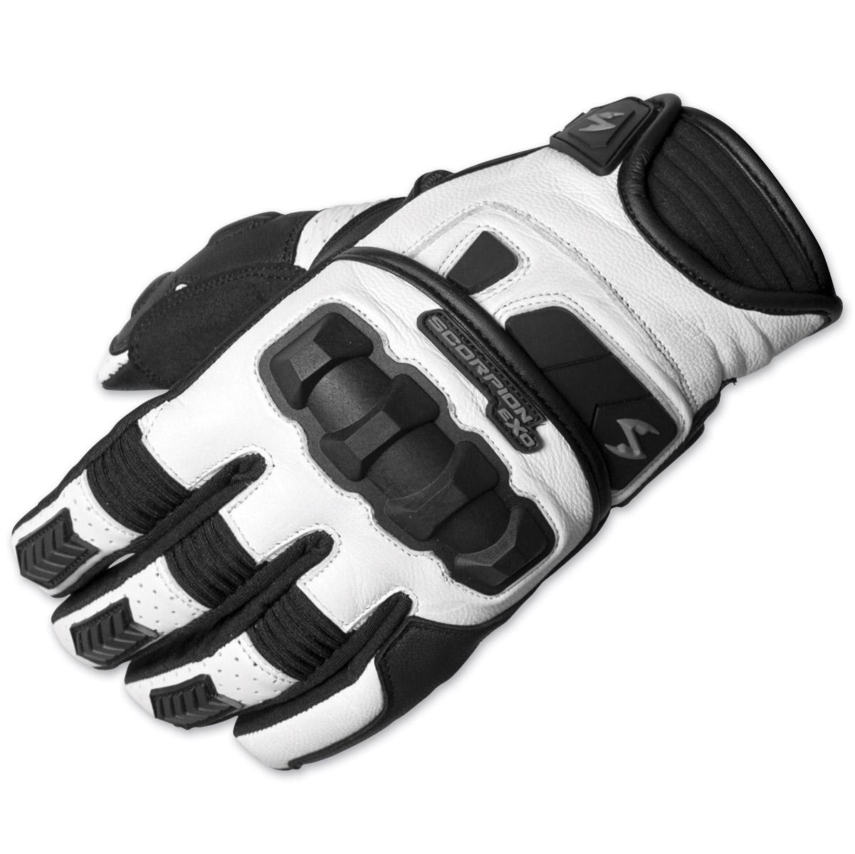 Scorpion EXO Men's Klaw II White Gloves