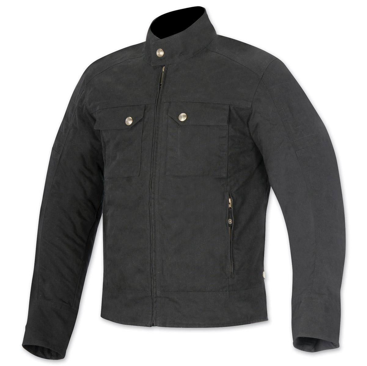 Alpinestars Oscar Men's Ray Black Canvas Jacket
