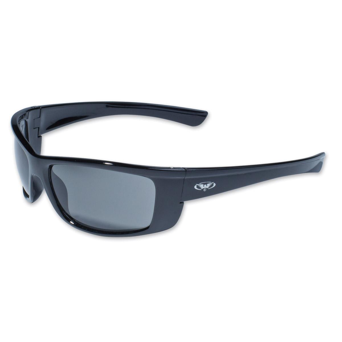 global vision eyewear eye black frame sunglasses