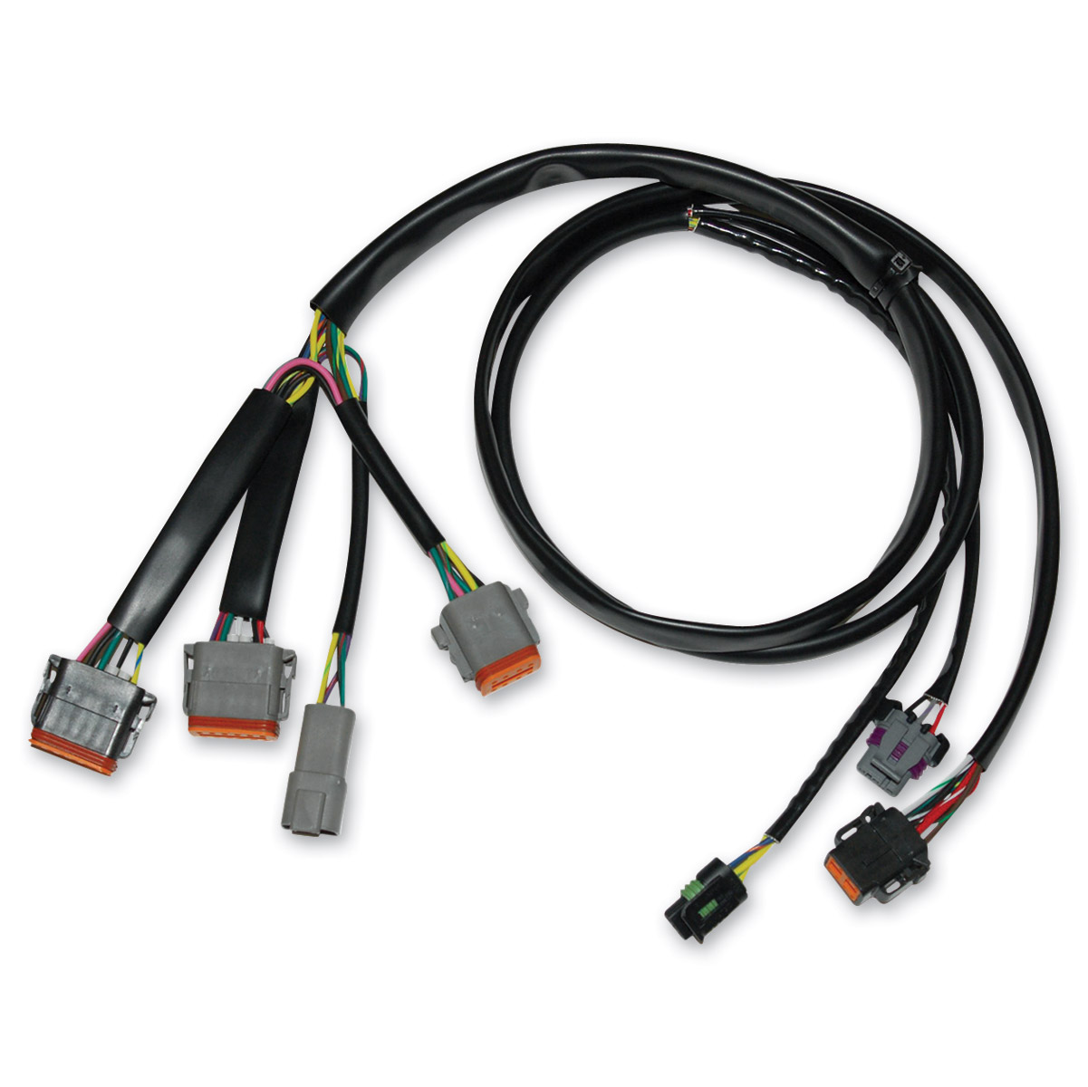 NAMZ Custom Cycle Complete Ignition Wiring Harness | 745-071 | J&P on battery harness, dog harness, electrical harness, oxygen sensor extension harness, engine harness, fall protection harness, cable harness, maxi-seal harness, pony harness, nakamichi harness, swing harness, alpine stereo harness, amp bypass harness, safety harness, suspension harness, pet harness, obd0 to obd1 conversion harness, radio harness,